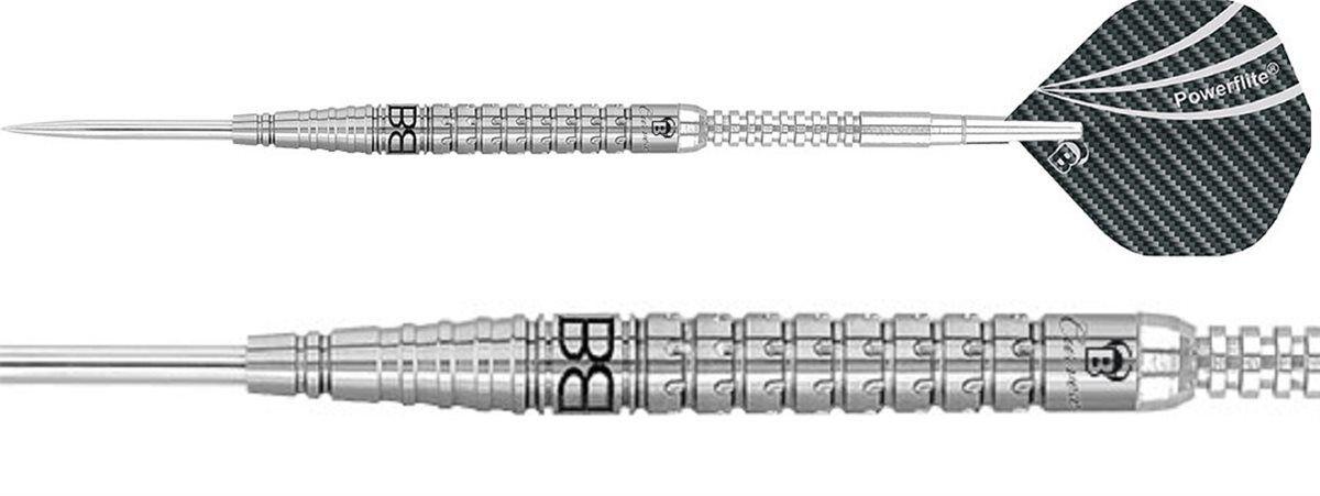 Dart BULL'S Curvex C3 Steel Dart 22g FARBIG SILBER 22 Gramm
