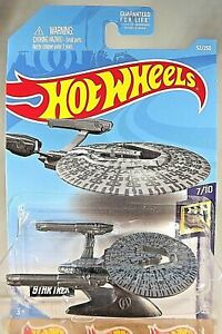 2019-Hot-Wheels-52-Star-Trek-Screen-Time-7-10-U-S-S-VENGEANCE-Dark-Metal-Gray