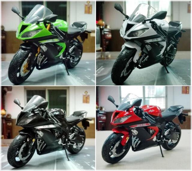 1:12 Alloy Kawasaki Ninja ZX-6R Kit Collectable Motorbike Model