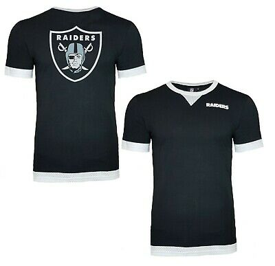ab781134 NFL Oakland Raiders T Shirt Mens ALL SIZES Mesh Official Team Apparel  Jersey | eBay