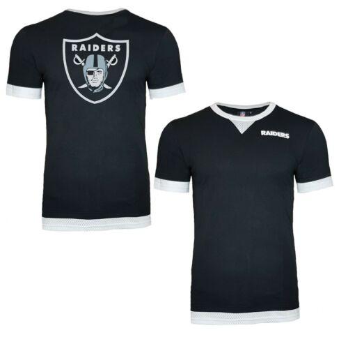 NFL Oakland Raiders T Shirt Mens S M L XL Mesh Jersey