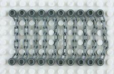 Lego 2x Chain Chain 5 Links dark grey//dark offer gray 92338 NEW