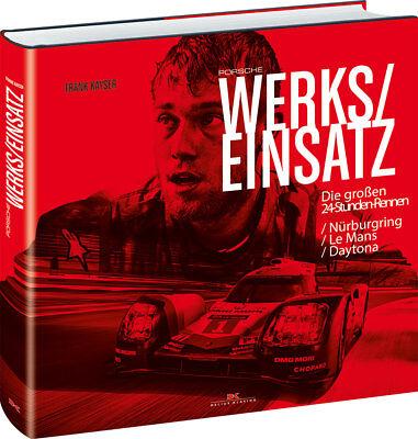 Automobilia KöStlich Porsche Werkseinsatz Die Großen 24-stunden Rennen Nürburgring Le-mans Dayton Produkte Werden Ohne EinschräNkungen Verkauft