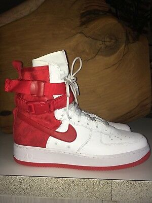 Air Force 1 SF Shoes! Red HYPE CLOUT | eBay