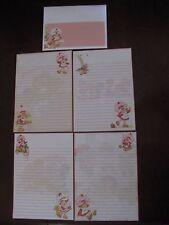 Strawberry Shortcake STATIONARY set paper mini letterhead envelopes vintage