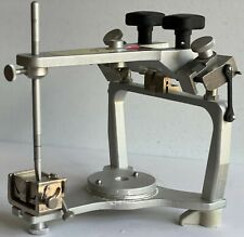 Whip Mix Articulator Model 2340 In Excellent Condition With Case And Attachments