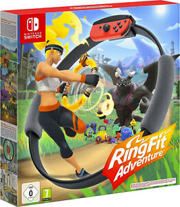 Ring Fit Adventure Nintendo Switch Spiel Ring-Con Fitness Sport Aktivität   NEU