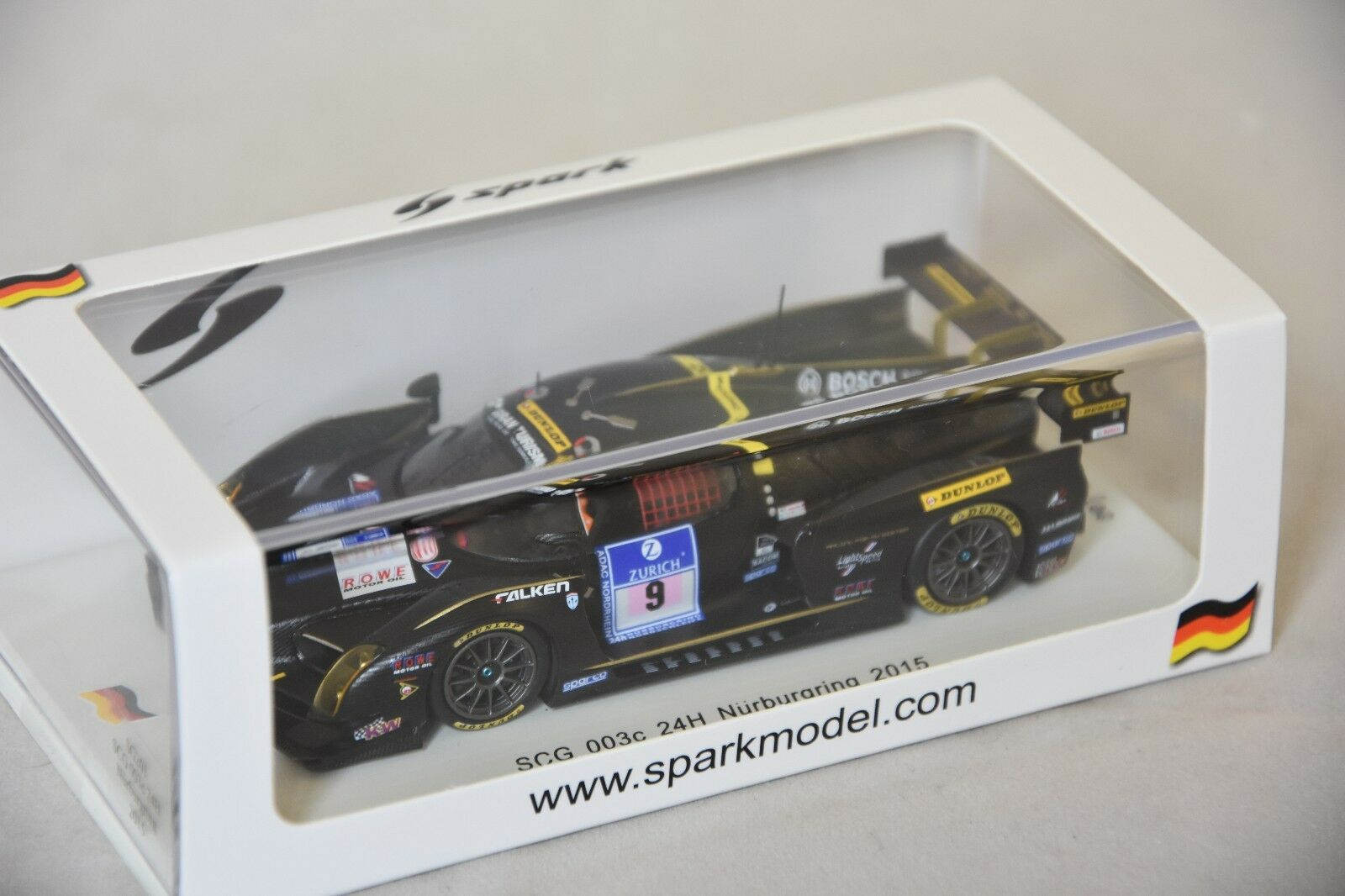 Spark - SCG 003c Scuderia Cameron Glickenhaus n°9 24H Nurburgring 2015  1 43