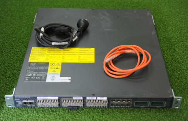 Cisco DS-C9134-1K9 MDS 9134 32-Port Fabric Switch 4-Gbps Active Ports HSS
