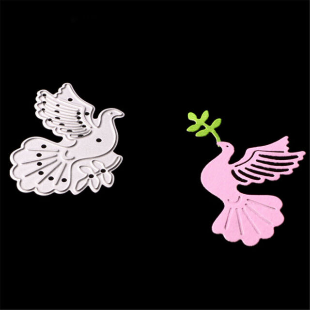 Peace Dove Metal Cutting Dies Stencils for DIY Paper Cards Scrapbooking Decor BR