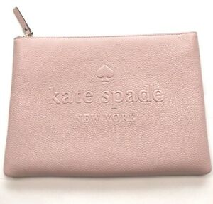 Image Is Loading New Kate Spade Ash Street Leather Gia Clutch