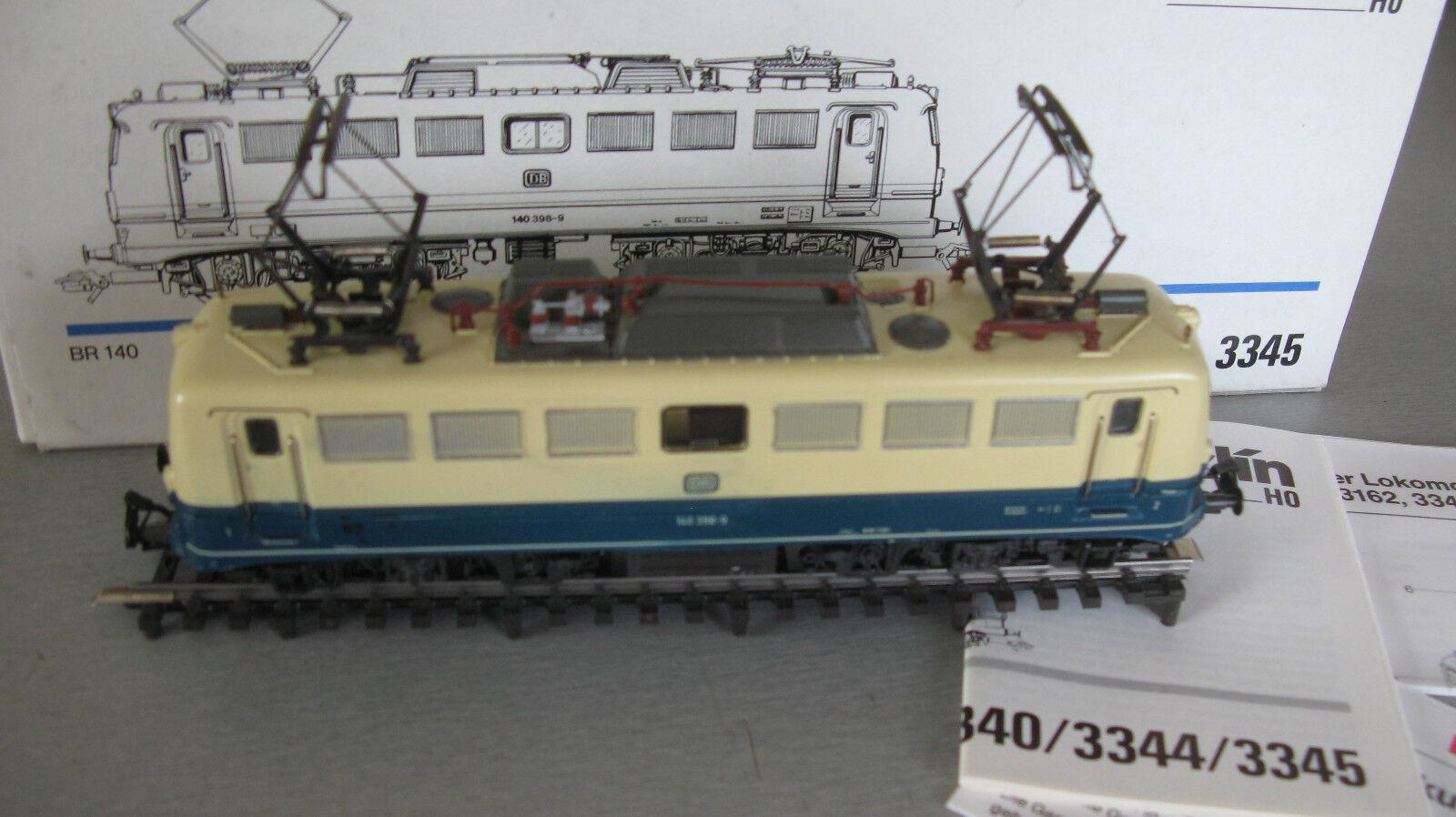 3345 E-Lok BR 140 398-9 delle DB OVP vitrinnenmodell