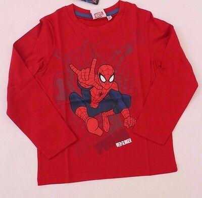 Marvel The Ultimate Spider-Man Kids Boys Red Sweatshirt Sizes 4 YRS 6 YRS NWT