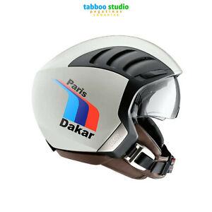 Adesivi-BMW-Paris-Dakar-racing-casco-moto-custom-helmet-stickers-pegatinas
