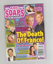 ABC SOAPS IN DEPTH GENERAL HOSPITAL GH THE DEATH OF FRANCO AUG 2013