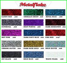METAL FLAKE GLITTER MIXED COLOUR 5 x 6g SAMPLE PACK CUSTOM METALFLAKE PAINT