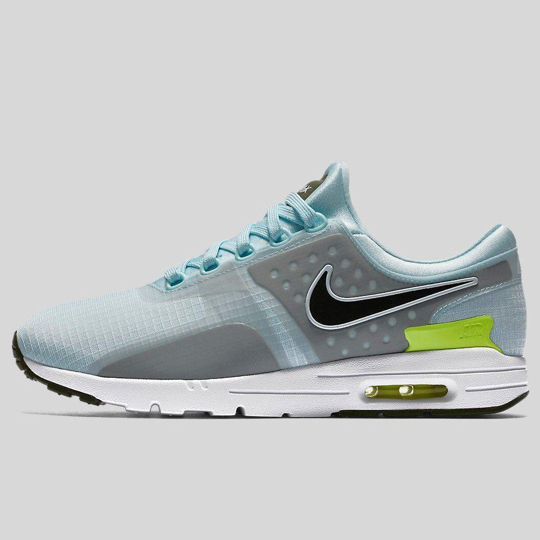 SZ 6 Women's Nike Air Max Zero Zero Zero SI Glacier bluee 881173-400 Running Training DS 8ad271