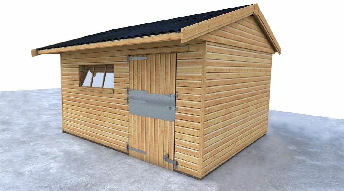 12x12 TIMBER STABLE FOR SALE FREE DELIVERY FREE INSsizeTION