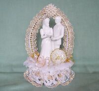 Ooak-sale 50% Off 50th Wedding Anniversary Cake Top-white Porcelain Couple