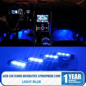 Lampadine Led Auto Interni.Dettagli Su 12v Led Blu Neon Luci Lampadine Per Auto Interno Decorazione Accendisigari Nuovo