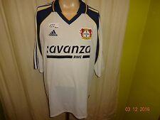 """Bayer 04 Leverkusen Original Adidas Auswärts Trikot 2000/01 """"avanza RWE"""" Gr.XXL"""