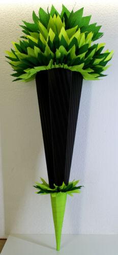 Schultüte Zuckertüte Rohling 8 MODELLE 70,75,80 85cm Geschwistertüte HANDARBEIT