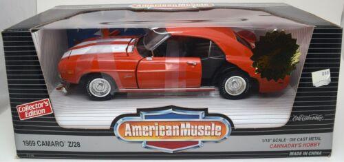 DAMAGED ERTL 1//18 1969 Chevy Camaro Z//28 ORANGE American Muscle Unrestored Parts