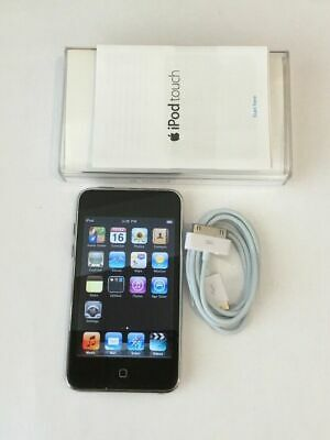 Apple iPod Touch 4th Generation Black 8 GB Works 100/% Bad Power Button