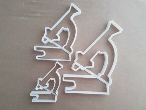 Microscope Magnify Zoom Forme Cookie Cutter Pâte Biscuit Pâtisserie Fondant STAMP