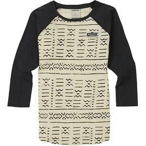 Burton Bel Mar Raglan Shirt Damen-Langarmshirt Sweatshirt Rundhals NEU