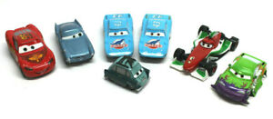 Disney-Pixar-Cars-Lote-Diecast-1-55-Mattel-Lightning-McQueen-roto-para-piezas