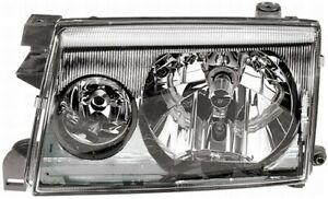 Projektor Scheinwerfer dx für Nissan Terrano 2 1999 IN Dann Verchromt