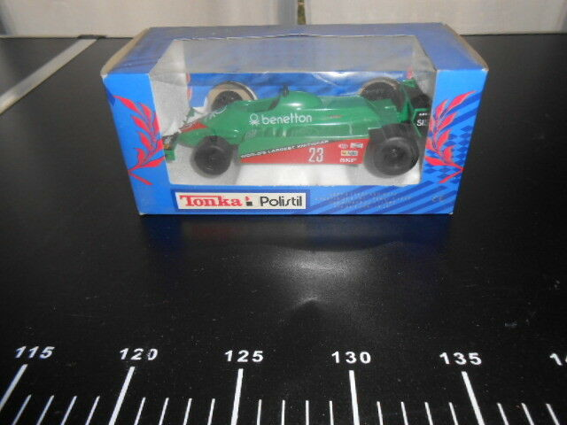 TONKA POLISTIL Benetton F1 bleu Box New