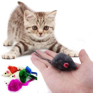 Funny-Furry-Mice-cat-toy-kitten-toys-Rabbit-Fur-False-Mice-mouse-bulk-10pcs