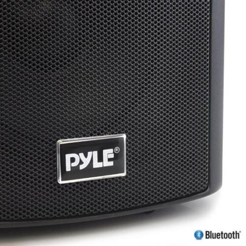 """NEW Pyle PDWR52BTBK Wall Mount Waterproof /& Bluetooth 5.25/"""" In//Outdoor System"""