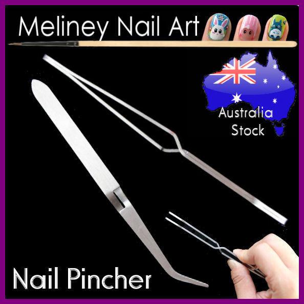 Acrylic Nail Pincher Pinching Pinch Clamp Tool Art C Curve