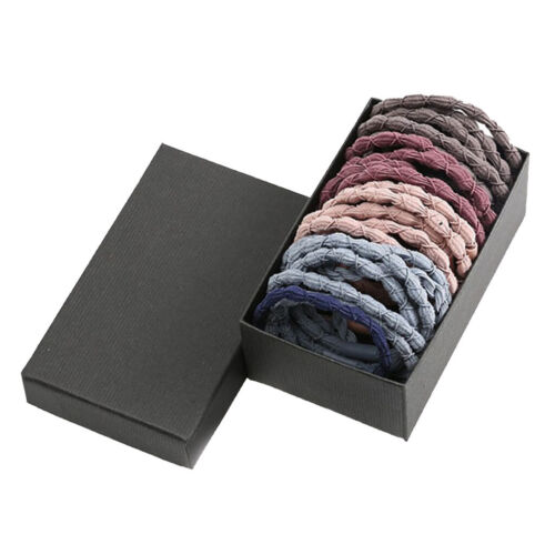 30x Women Girls Elastic Hair Ties Rope Hairband for Thick and Thin Hair