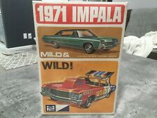 1971 Chevy Impala Mild & Wild 1/25 model by mpc vintage