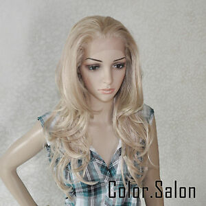 HAND-TIED-Synthetic-Hair-LACE-FRONT-FULL-WIGS-GLUELESS-HEAT-SAFE-92-613M27