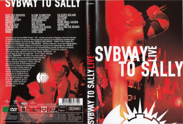 Subway To Sally / Live Columbiahalle in Berlin / DVD´s von 2003 / Neuwertig !