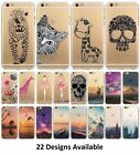 Coque Mountain Landscape Animals Scenery Flower Soft Case Iphone 4 5 6 6s+