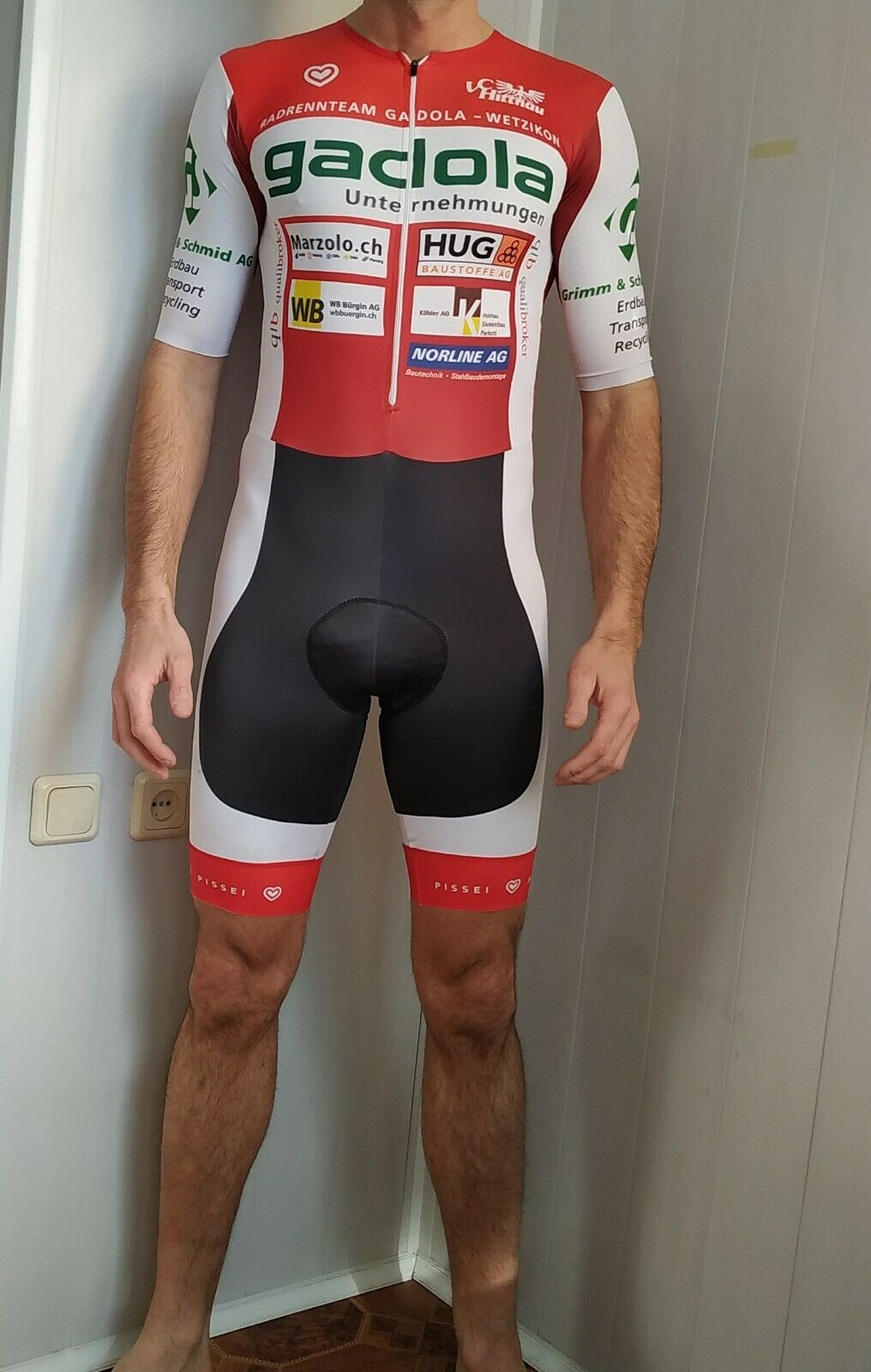 Pissei cycling speed suit , made in  ,  Size - 3
