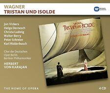 HERBERT VON/VICKERS/LUDWIG KARAJAN - TRISTAN UND ISOLDE 4 CD NEU WAGNER,RICHARD