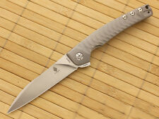 KIZER Ki3457A1 TomCat Knives Splinter FLIPPER , S35VN , TITANIUM , ball bearings
