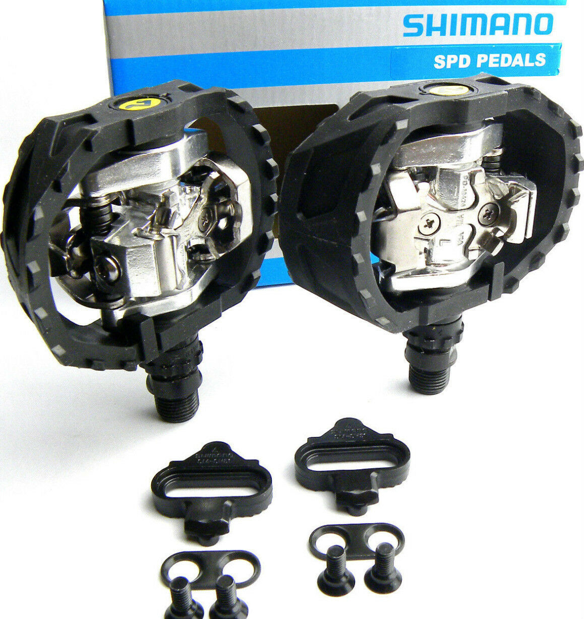 1  paar SHIMANO PD-M424 SPD PEDAL PEDALE BMX DH MTB FREERIDE inkl. CLEATS OVP  selling well all over the world