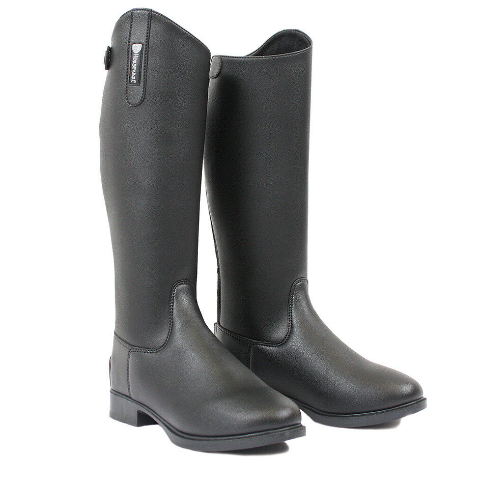 Horseware Riding Boots MENS Synthetic Leather Long Boots ALL SIZES EASY CARE