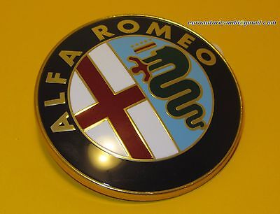 ALFA ROMEO ORIGINAL GRILLE BOOT BADGE EMBLEM GTV 6 33 75 90 155 156 164 75 mm