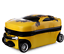 Transformer-Yellow-Bumble-Bee-3D-Travel-Luggage-Suitcase-19-034-Backpack thumbnail 3