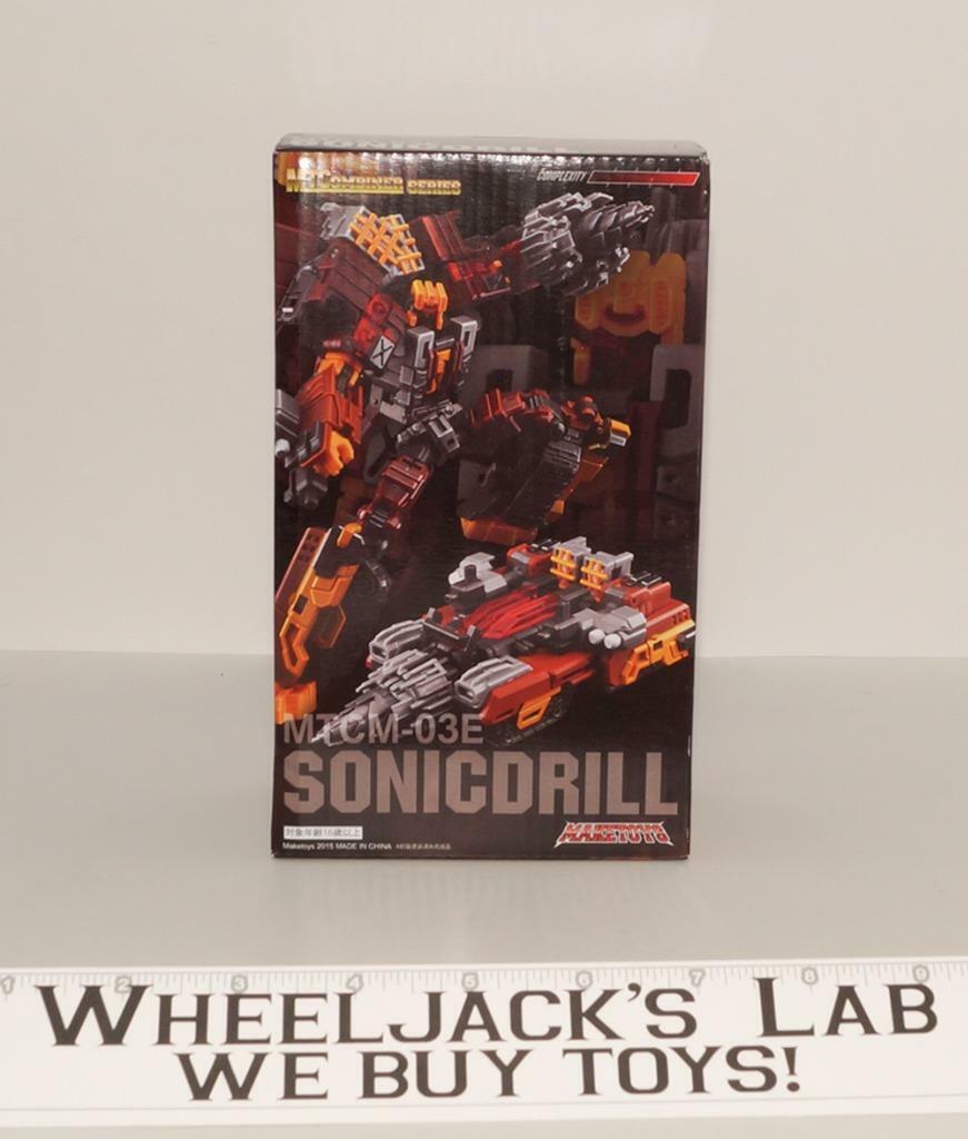 MTCM-03E Sonicdrill Nosecone Metalstorm Computron nuovo renderegiocattoli Transformers   da non perdere!