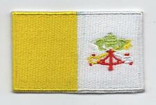 Embroidered VATICAN Flag Iron on Sew on Patch Badge JOB LOT 10 Pieces